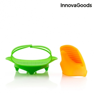 """Sulankstomas silikoninis maisto garintuvas """"InnovaGoods"""""""