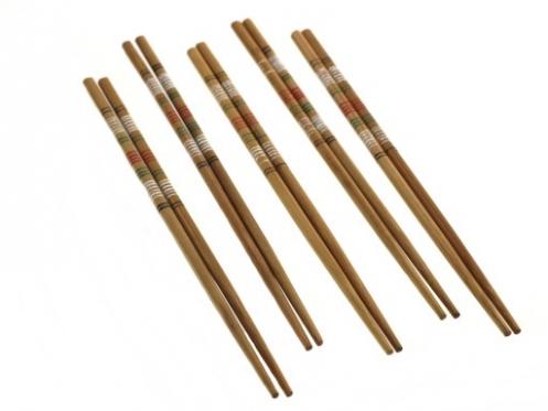 Bambukinės lazdelės, 5 vnt