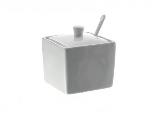 Porcelianinė cukrinė, 8 x 9 cm