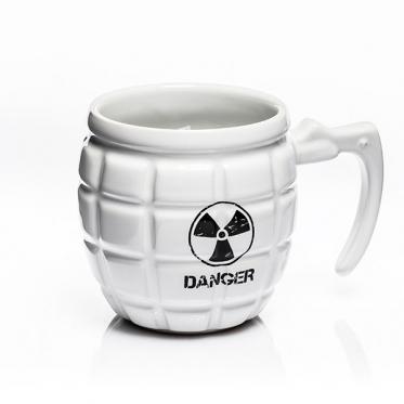 "Granatos formos puodelis ""Danger"", 460 ml"