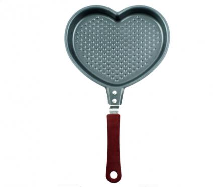 Širdelės formos keptuvė, 17,5 x 28,5 x 4 cm