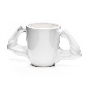 Stipruolio puodelis su rankos formos rankenomis, 260 ml