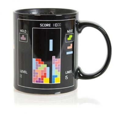 """Spalva keičiantis puodelis """"Tetris"""", 330 ml"""