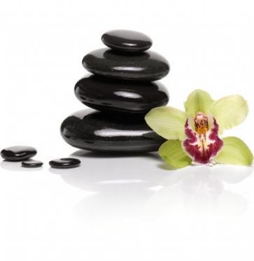 Karšto masažo SPA akmenys, 9 vnt