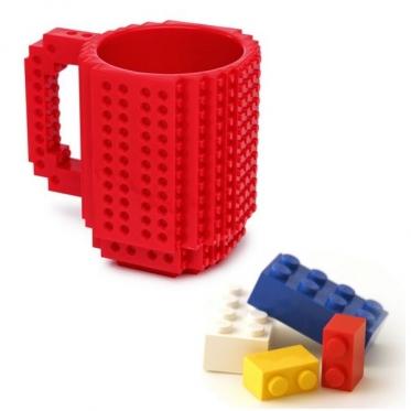 Lego formos puodelis, 350 ml (raudona)