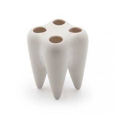 Danties formos dantų šepetukų laikiklis, 10 x 7 cm