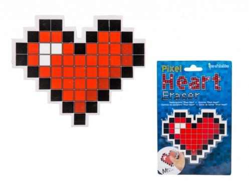 """Trintukas """"Pikselių širdelė"""", 10 x 8,5 cm"""