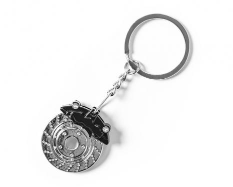 Dekoratyvinio automobilio stabdžių disko rakto pakabukas