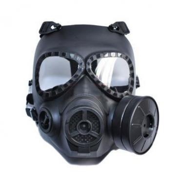 Dažasvydžio kaukė (juoda)