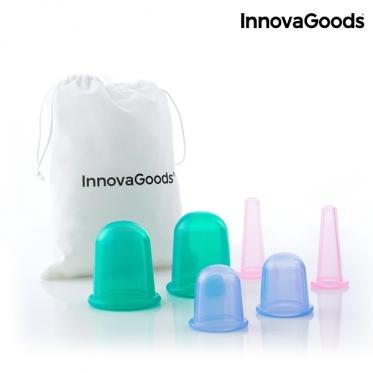 "Anticeliulitinis vakuuminis masažuoklis ""InnovaGoods"", 6 vnt"
