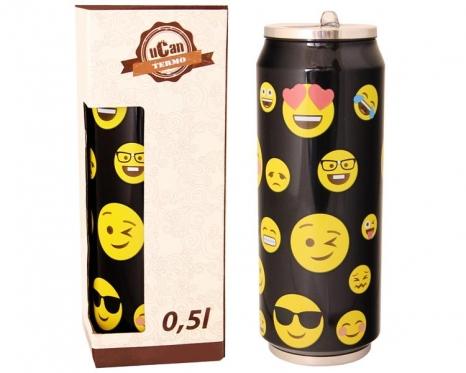 "Nerūdijančio plieno termosas ""Ucan Smile"", 0,5 l"