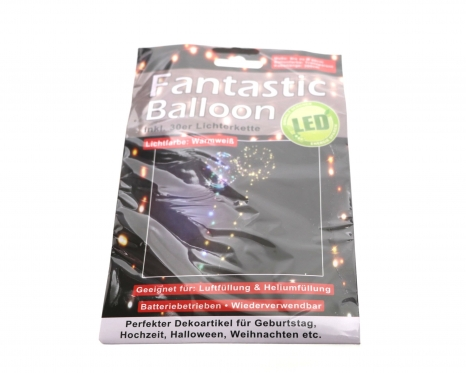 LED balionas, Ø 40 cm