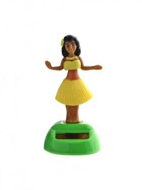 """Figūrėlė su saulės baterija """"Havajų mergina"""", 11 cm"""