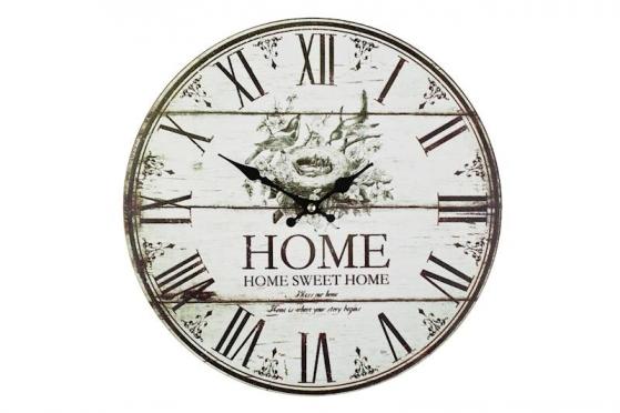 "Sieninis laikrodis ""Home Sweet Home"""