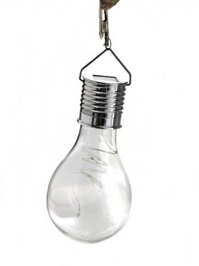 LED lemputė su saulės baterija