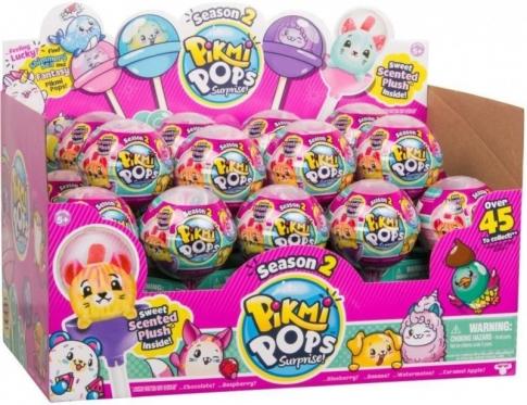 """""""Pikmi Pops"""" žaisliukas ledinuke su stovu (2 sezonas)"""
