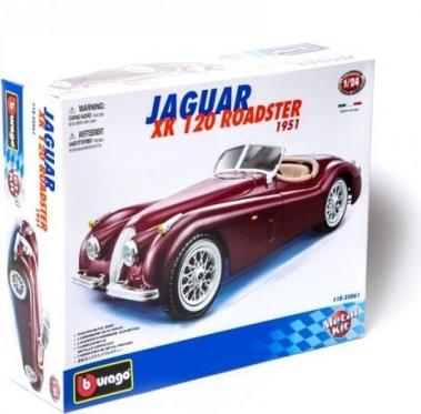 """Bburago"" metalinis automobilio modelis ""Jaguar XK 120 Roadster 1951"""