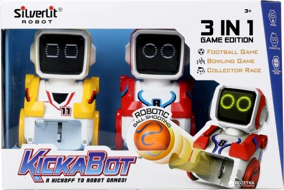 """Silverlit"" nuotolinio valdymo robotai ""Kickabot"", 2 vnt"
