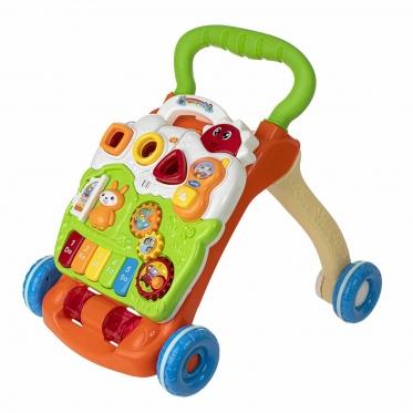 """Keturi viename, interaktyvus žaislas - vaikštynė """"Fortepijonas"""""""