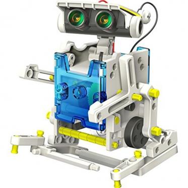 Trylika viename, edukacinis saulės energijos robotas