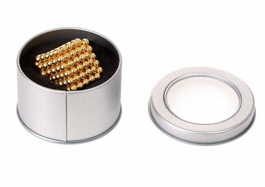 """""""Neocube"""" magnetiniai rutuliukai, 216 vnt (auksiniai)"""