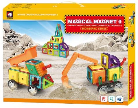 """BCP"" konstruktorius ""Magiški magnetai"", 162 vnt"