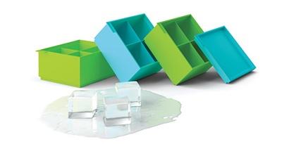 """""""SiliconeZone"""" silikoninė ledo kubelių dėžutė!"""