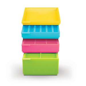 """""""SiliconeZone"""" silikoninė trijų dalių ledo kubelių dėžutė"""