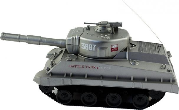 Nuotolinio valdymo šaudantis tankas