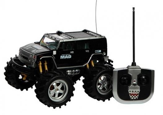 """Nuotolinio valdymo bekelės mašinėlė """"Monster Truck"""""""