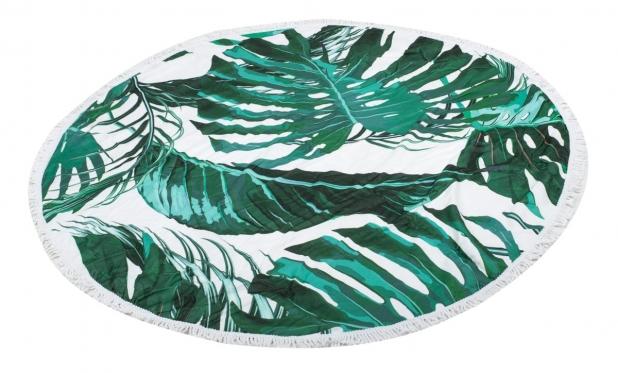"""Paplūdimio kilimėlis """"Palmės lapai"""", Ø 150 cm"""