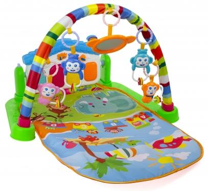 """Žaidimų kilimėlis """"Pianinas"""", 82 x 46 x 110 cm (žalias arba rožinis)"""