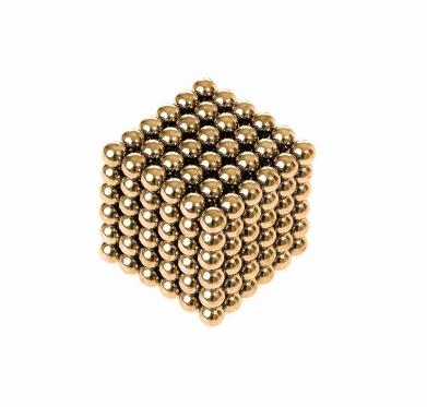 "Magnetinis ""Neo"" kubas auksinis"