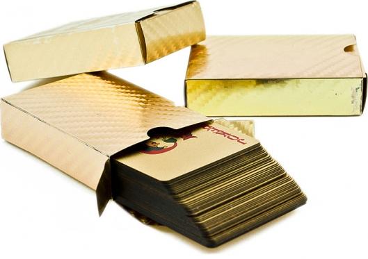Auksinė kortų kaladė
