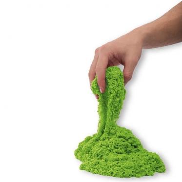 Kinetinis smėlis 1 kg žalias