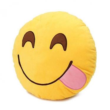 """Dekoratyvinė pagalvėlė """"Emoji Delicious"""""""