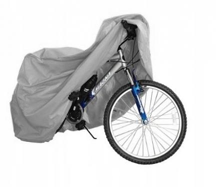 Neperšlampamas dviračio uždangalas