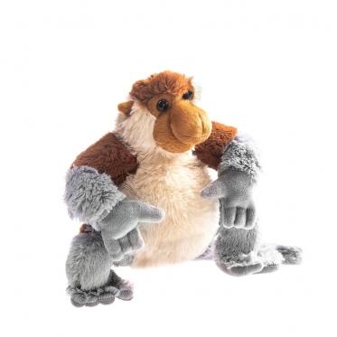 """Pliušinė ilganosė beždžionė """"Nasalis Larvatus"""""""