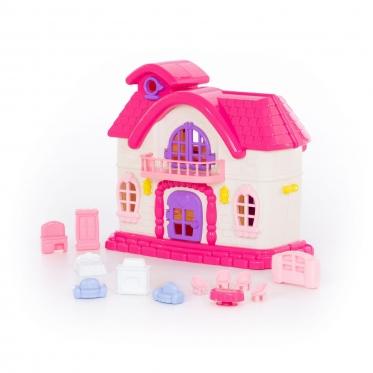 """Žaislinis lėlių namelis """"Wader 78261"""""""