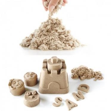 Kinetinis smėlis 1 kg rudas