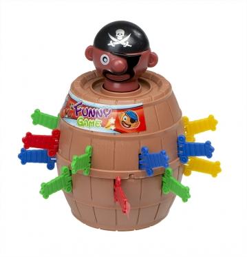 """Stalo žaidimas """"Pašėlęs piratas"""""""