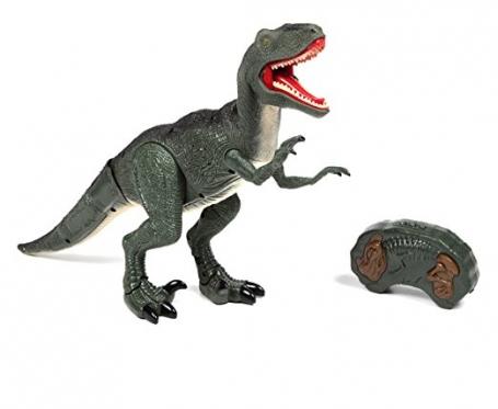 """Nuotolinio valdymo dinozauras """"Velociraptor RC"""""""