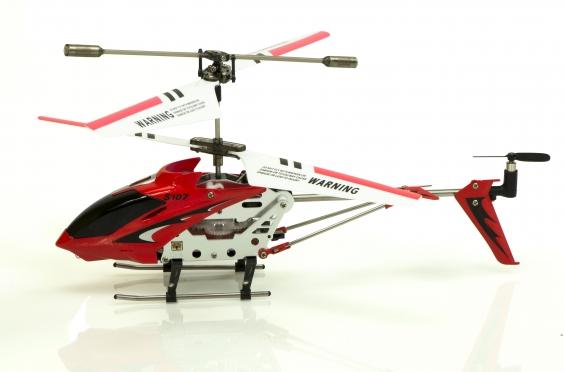 """Nuotoliniu būdu valdomas sraigtasparnis """"Syma S107G"""", 3 spalvų"""