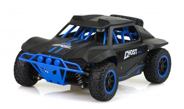 """Nuotoliniu būdu valdomas automobilis """"Racing Rally 2.4Ghz 4WD"""" (juodas)"""