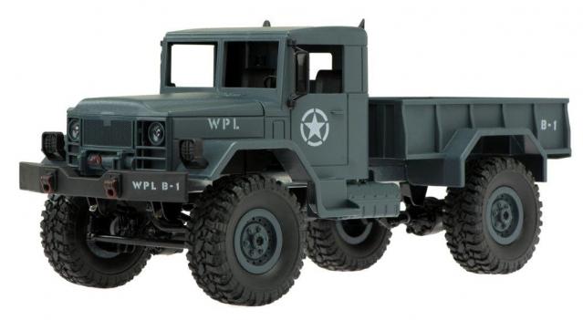 """Karinis sunkvežimis """"B-1"""", 4x4  su nuotoliniu valdymu"""