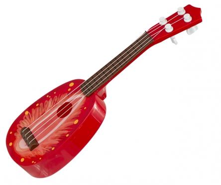 """Vaikiška gitara """"Braškė"""""""