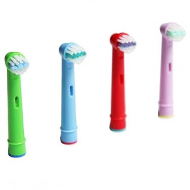 """Elektrinių dantų šepetėlių antgaliai vaikams """" EB-10A"""" 4 vnt."""