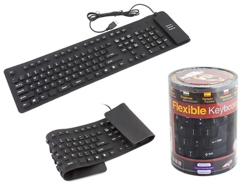 Silikoninė kompiuterio klaviatūra AK136