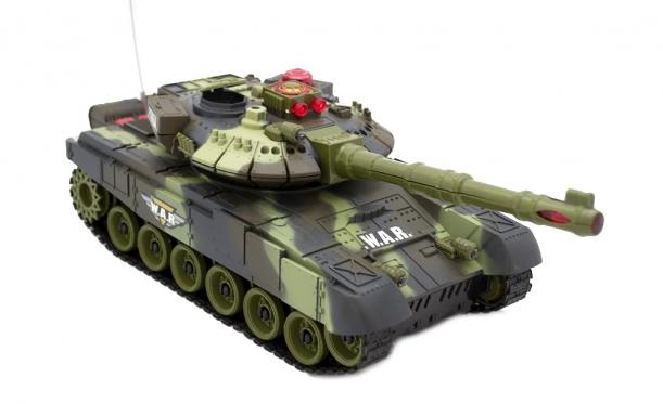 Nuotolinio valdymo karinis tankas