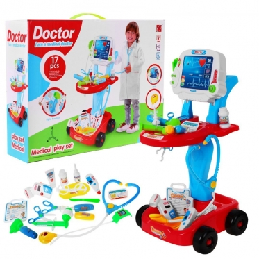 """Žaislų rinkinys """"Daktaras"""""""